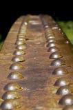 Remaches oxidados Fotografía de archivo libre de regalías