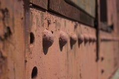 Remaches resistidos Imagen de archivo libre de regalías