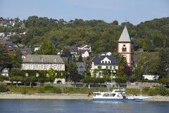 Remagen - fiume il Reno Immagine Stock Libera da Diritti