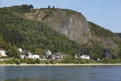Remagen - Rzeczny Rhine Obrazy Royalty Free