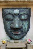 The remain of Ueno Daibutsu at Ueno Park Royalty Free Stock Photos