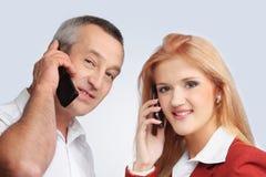 Remaining on communication Royalty Free Stock Photo
