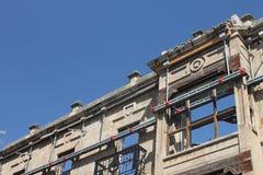 Remaining historical facade Stock Photo