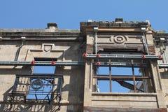 Remaining historical facade Royalty Free Stock Photos