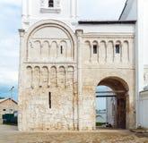Remaining of Palace Prince Andrey Bogolyubskiy (12th c.) UNESCO Royalty Free Stock Photo
