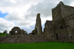 Remaining Ruins of Hore Abbey Stock Photo