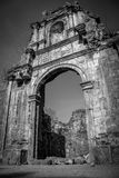 Remaining structure. A ruin of the historic times royalty free stock photos