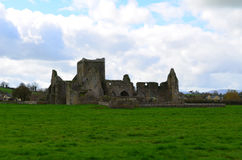 Remaining Walls of Hore Abbey Stock Image