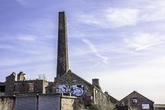 Remainings de la arquitectura industrial histórica Stoke de Trent imagenes de archivo