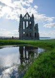 Remainings de Whitby Abbey North Yorkshire el Reino Unido Fotos de archivo libres de regalías