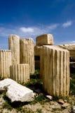 Remains in acropoli fotografia stock libera da diritti