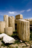 Remains in Acropolis royalty free stock photo