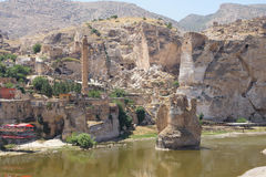 Remains of ancient bridge Stock Photos