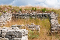 The remains of the ancient city of Chersonesus. Founded by the ancient Greeks. Hersones ruins, archaeological park Stock Photography