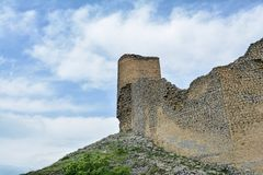 Remains of an ancient fortress Gala in Azerbaijan Royalty Free Stock Photography