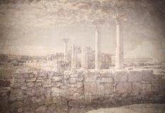 Remains of ancient greek city Chersonese. Sevastopol. Crimea. Ukraine. Stock Photos