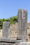 Remains at ancient Olympia archaeological site in Greece Royalty Free Stock Photos