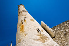 The remains of the ancient Romans in Zadar. Pillar of torture in Zadar. Royalty Free Stock Photos