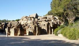 Remains av den romerska civilisationen arkivbilder