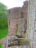Remains av slottet royaltyfria foton
