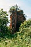 Remains av slottet fotografering för bildbyråer