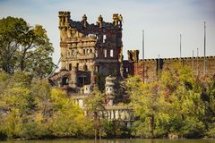 Remains of Bannerman Castle Stock Photography