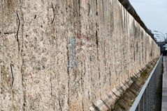 Remains of Berlin Historical wall Royalty Free Stock Image
