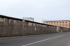 The remains of berlin wall Royalty Free Stock Images