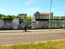 The remains of the Berlin Wall Royalty Free Stock Image