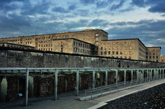 Remains of the Berlin Wall in Germany Stock Photos
