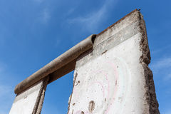 Remains of Berlin Wall Royalty Free Stock Images