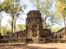 Remains of a building Khmer style Stock Photos