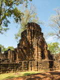 Remains of a building Khmer style. Remains of a building at the Prasat Muang Sing Historical Park in Khmer style Royalty Free Stock Images