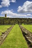 Remains of Byland Abbey Stock Photo