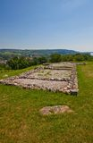 Remains of the church (IX c.) in Devin castle. Slovakia Stock Image