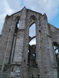 Remains of a church in Visby in Sweden Stock Image