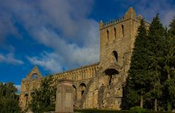 Remains of a Destroyed Abbey royalty free stock photo