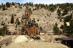 Remains di una miniera di oro Immagine Stock Libera da Diritti