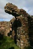Remains do banho romano em Seascale Fotos de Stock