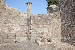 Pompeii. Interior of house Stock Images