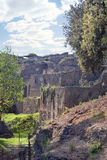 Pompeii. Former marine jetty Royalty Free Stock Photography
