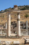 Remains of Ephesus.. The magnificent classical architecture of the famous city of Ephesus Stock Photo