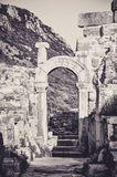 Remains of a Former Civilization in Ephesus royalty free stock images