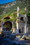 Remains of a Former Civilization in Ephesus royalty free stock photos