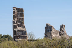 Remains of fortress Bomarsund Stock Images