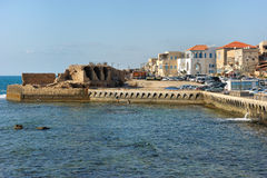 Remains of fortress walls of the Acre Royalty Free Stock Photos
