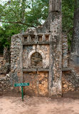 Remains of  Gede, in Kenya, Africa Stock Images
