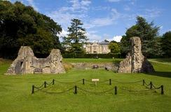 Remains of Glastonbury Abbey Stock Image