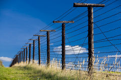 Remains of iron curtain Stock Photos