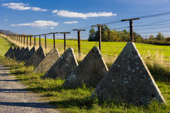 Remains of iron curtain